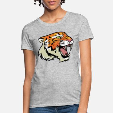 Growling Growling Tiger - Women's T-Shirt