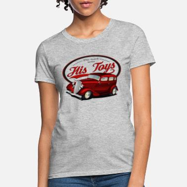 1933 Plays with his Hot rods - Women's T-Shirt