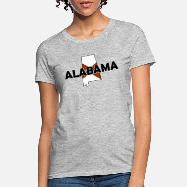 State Border Alabama - State Border Flag - USA - America - Women's T-Shirt