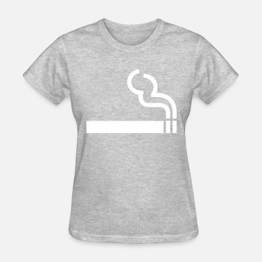 No Smoking Area Smoking Area - Women's T-Shirt