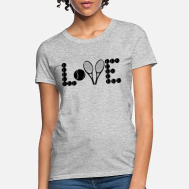 2bbc9a6d6b0d1 Shop Love Tennis T-Shirts online | Spreadshirt