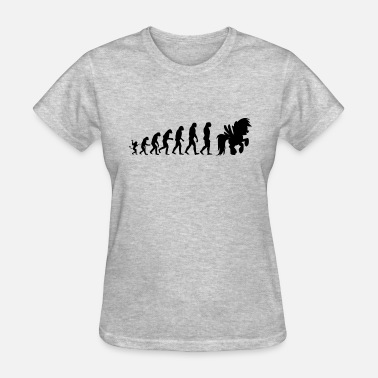 Evolution Horse Horse evolution - Women's T-Shirt