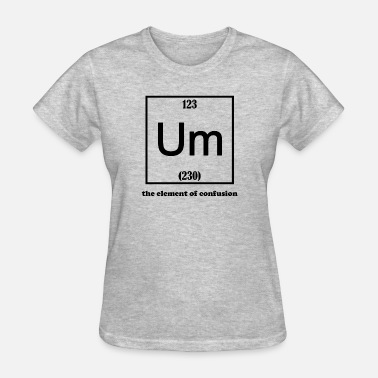 Atomic Number Funny - Women's T-Shirt