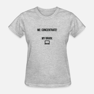 "Concentric Concentrate"" - Women's T-Shirt"