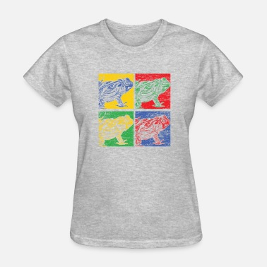 Frog Art Frog Pop Art - Women's T-Shirt