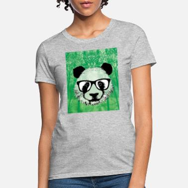 Panda Pop Art panda graffiti love pop art - Women's T-Shirt