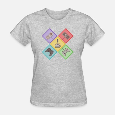 Classic Video Games classic video games controller - Women's T-Shirt