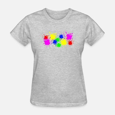Splash Color Splash Splashes of color splashes of color color color du - Women's T-Shirt