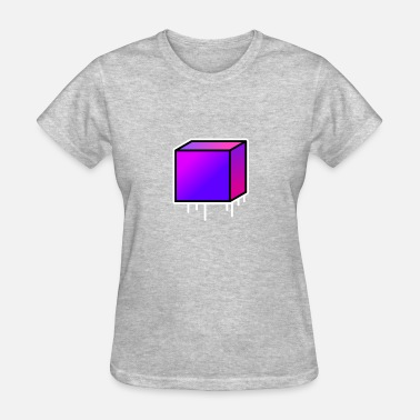 Goa Kids Purple cube - Women's T-Shirt