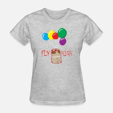 Flying Dog dog fly high - Women's T-Shirt