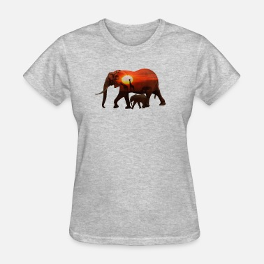 African Wildlife Safari African Elephant Gift Shirt Wildlife Nature - Women's T-Shirt