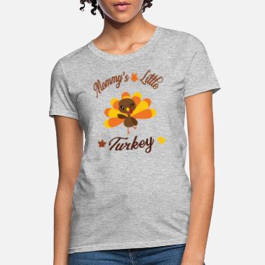 0ef37e1bfabba Thanksgiving Maternity Thanksgiving Maternity Pregnancy Lil Turkey Shirt -  Women's T-. Women's ...