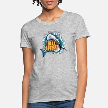 Jiu-jitsu BJJ Shark - BJJ Jiu-Jitsu, Grappling and MMA Gift - Women's T-Shirt