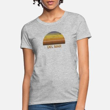 Family Vacation Vintage Sunset Del Mar California Family Vacation - Women's T-Shirt