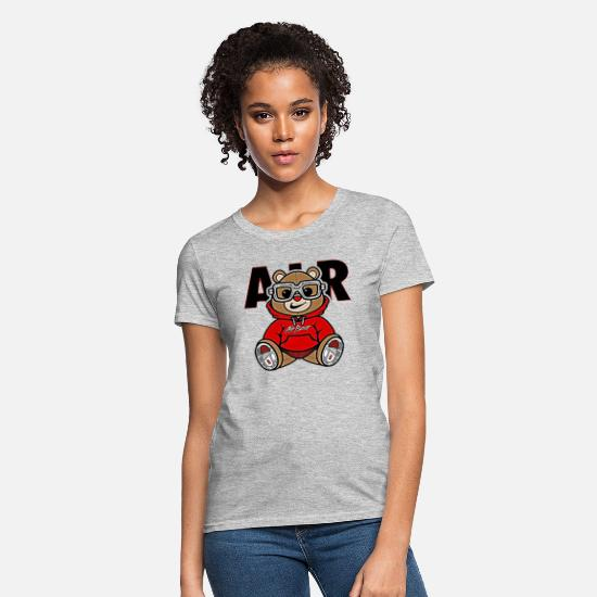 Stylish T-Shirts - Solehouette Bear 3s - Women's T-Shirt heather gray
