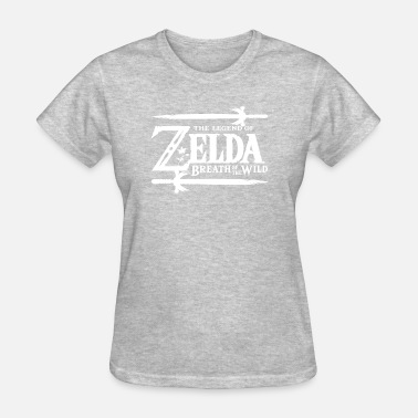 Breath-of-the-wild Nintendo Zelda Breath of the Wild Official Game Lo - Women's T-Shirt