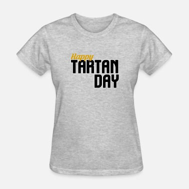 Tartan Tartan Day - Women's T-Shirt
