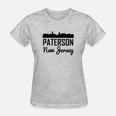 Paterson Paterson New Jersey Skyline - Women's T-Shirt