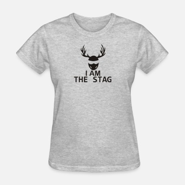 I Am The Stag I Am The Stag Stag Night Hen Wedding - Women's T-Shirt