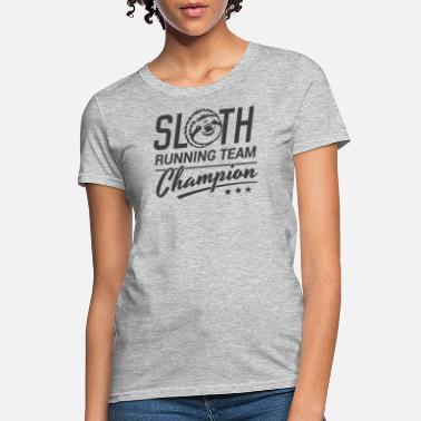 Shop Sloth Running Team T Shirts Online Spreadshirt