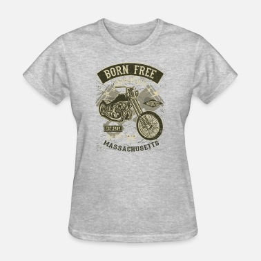 Born To Be Free Born Free Choppers - Women's T-Shirt