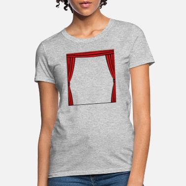 Curtain Curtain frame - Women's T-Shirt