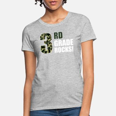 Third Grade Rock Third Grade Rocks - Women's T-Shirt