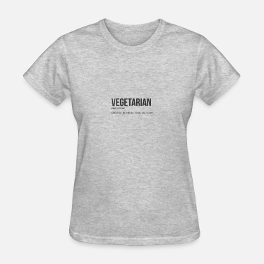 Melt Vegetarian Hilarious Meaning - Women's T-Shirt
