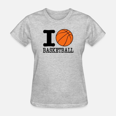 I Love Basketball T-shirt's i love basketball - basketball shirt - b ball - Women's T-Shirt
