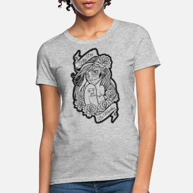 Blackwhitecontest Day of the Dead DIA DE LOS Muertos T-Shirt - Women's T-Shirt