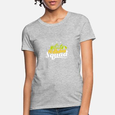 Car Camping Birthday Party Birthday Squad Wanderlust - Women's T-Shirt