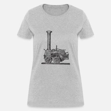 Let Off Some Steam WOMENS T-SHIRT Train Model Railway Rail Geek Gift birthday