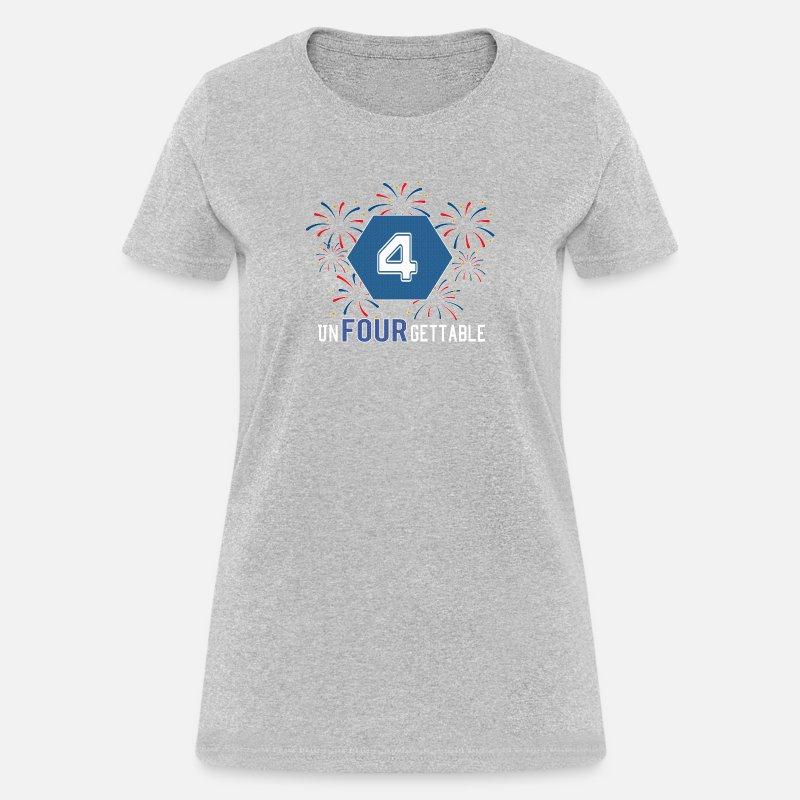 65ca26b0805e5 Top Fun 4th Birthday Unfourgettable Gift Design Boy Women's T-Shirt |  Spreadshirt