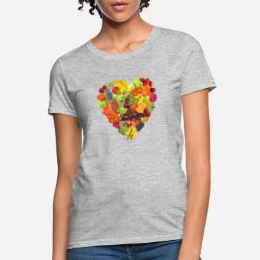 Fruit heart of fruits - Women's T-Shirt