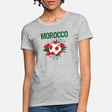 5588eafe4fe Morocco Soccer Shirt Fan Football Gift Funny Cool - Women's T-