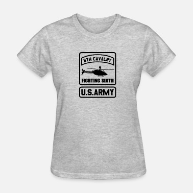 Army Cavalry Military 6Th cavalry Fighting Sixth Army T-shirt - Women's T-Shirt