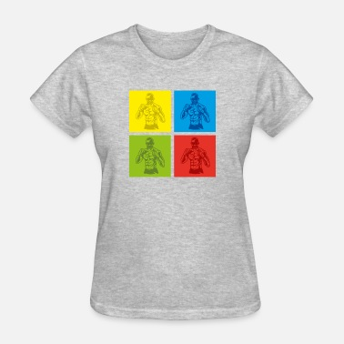 Balaclava pop art boxing - gift - Women's T-Shirt