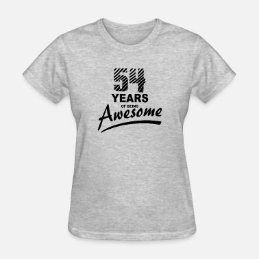 54 Years 54 Years of being AWESOME - Women's T-Shirt
