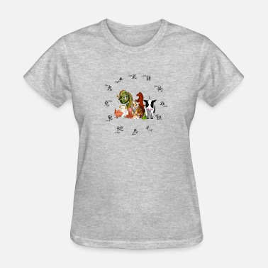 Zodiac Stars Chinese star signs! Zodiac - Women's T-Shirt