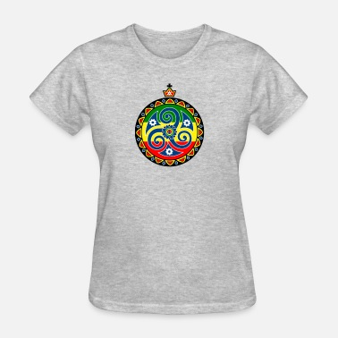 Rasta Cartoon Triskele Rasta - Women's T-Shirt
