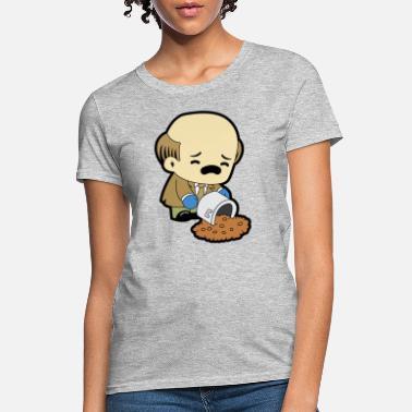 Shirtracer Lockeres Damen-Shirt in gro/ßen Gr/ö/ßen mit Rundhalsausschnitt Karneval /& Fasching Pommes We go Together Like