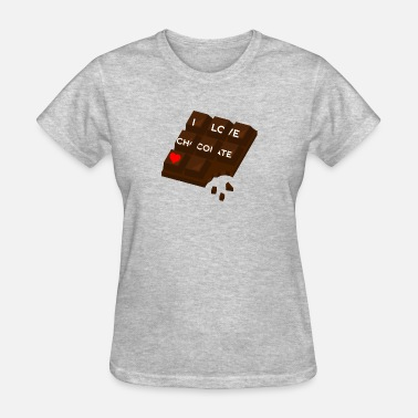 Chocolate Love Love chocolate - Women's T-Shirt