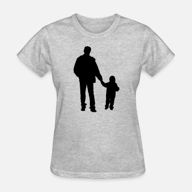 Baby Father And Son father and son 2 - Women's T-Shirt