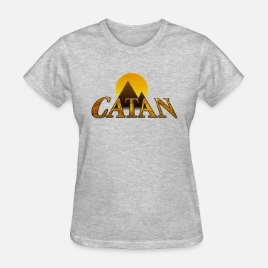 Catan Games Modern Settlers of Catan - Women's T-Shirt