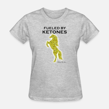 Speckled FUELED BY KETONES YELLOW SPECKLED UNICORN - Women's T-Shirt