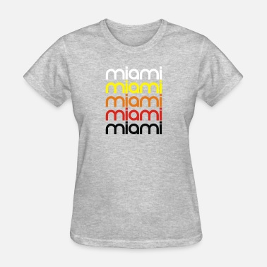 Miami Geek miami - Women's T-Shirt