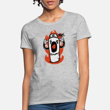 Scream Cartoon Scream - Women's T-Shirt