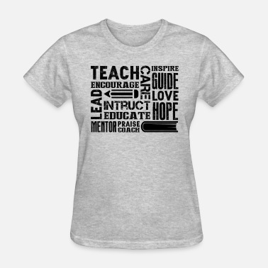 Encourage Teacher Encourage Subway Shirt - Women's T-Shirt