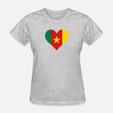 Republic Of Cameroon A Heart For Cameroon - Women's T-Shirt