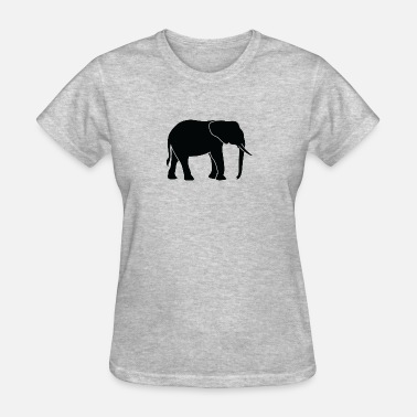 Trunk Tusk A Big Elephant With Trunk - Women's T-Shirt